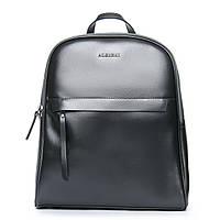 Рюкзак женский кожаный серый ALEX RAI 08-2 8694-2 light-grey, фото 1