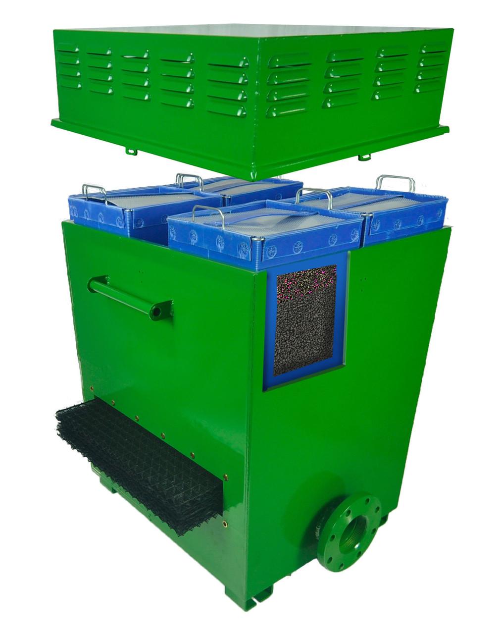 Канализационный фильтр для очистки воздуха Wager для рыбного хранилища, свинарника и тд. (25-80 м3 воздуха)