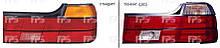 Ліхтар задній 2 шт. Bmw E32 7 до 1994 гв. ( Бмв 7 Е32 )