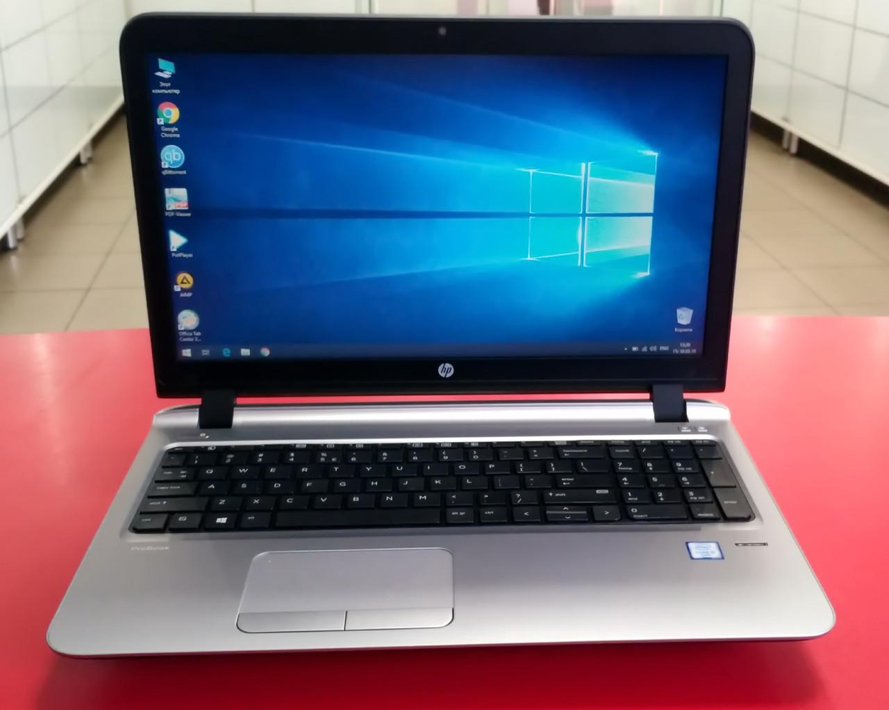 "Ноутбук HP ProBook 450 G3 15.6"" Intel Core i5 2.3 GHz 4 GB RAM 320 HDD Black-Silver Б/У"