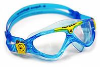 Детские очки для бассейна Aqua Sphere Vista Jr, clear lens aqua/yellow