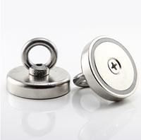 Неодимовый магнит крепежный: Диск D36 в корпусе с кольцом (26 кг)