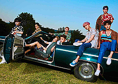 Картина GeekLandЭКЗО Мusic Exo Band 60 х 40 см  exo.03.07 KO KO BOP