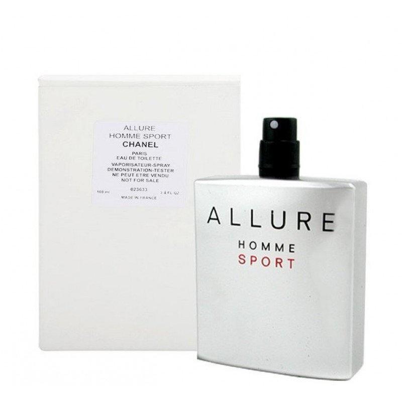 Тестер мужской Chanel Allure Homme Sport,100 мл