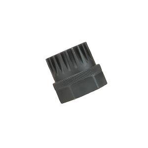 Велоінструмент зйомник каретки SuperB чорний сталевий з 20 зубцями під ключ 24 мм