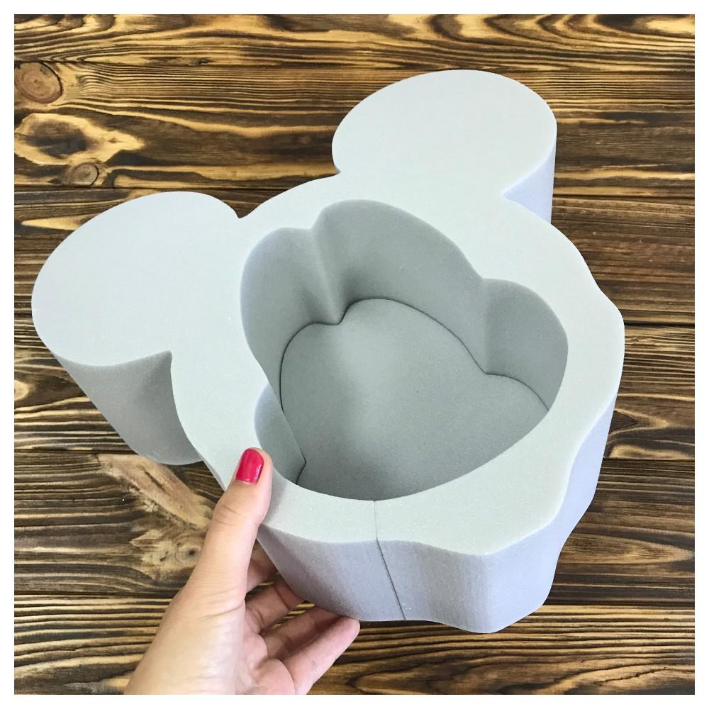 Пенобокс для цветов - Микки маус 30*28*10 см