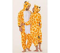 Взрослый костюм кигуруми жираф kig0028