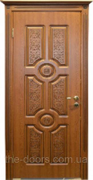 Двері Німан ВІП модель Антарес глухі