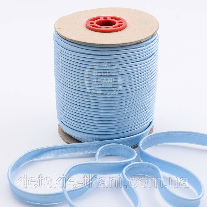 Кант из атласа, цвет светло-голубой