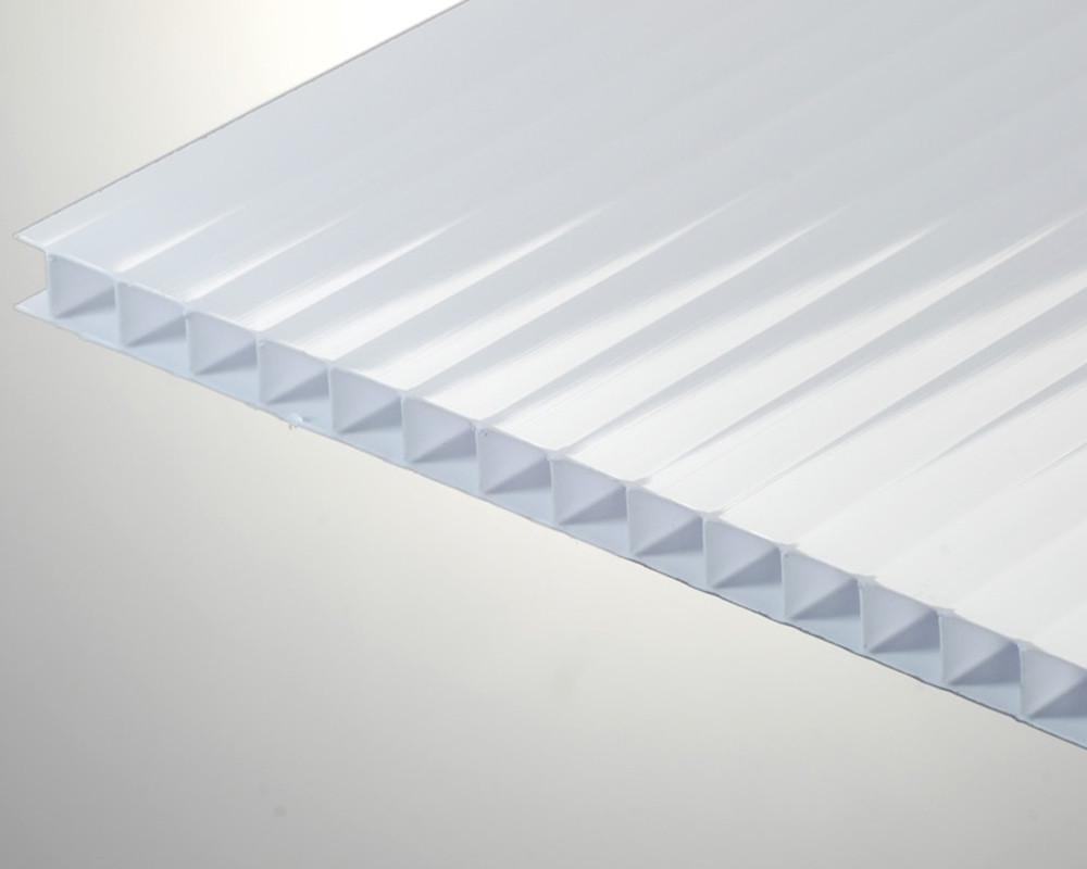 Сотовый поликарбонат ТМ Oscar 10мм опал (белый) 2100х6000мм