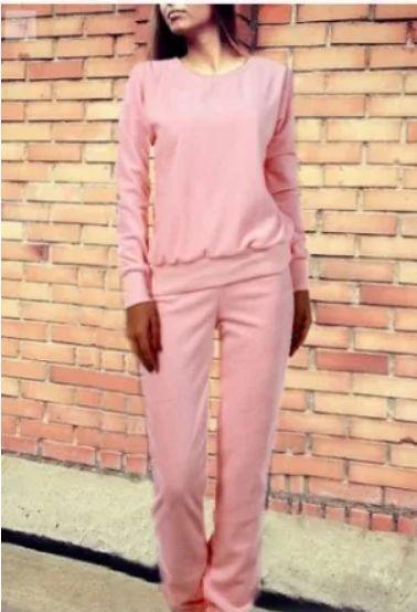 Женский спортивный костюм Милана на весну/осень ткань трикотажС-ка персиковый