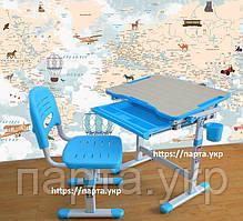 Комплект детская парта и стул, трансформеры  3 цвета