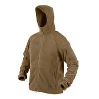 Тактическая флисовая курткаHelikon-Tex CUMULUS, coyote