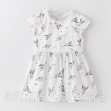 Платье для девочки Ракеты Jumping Beans, фото 2