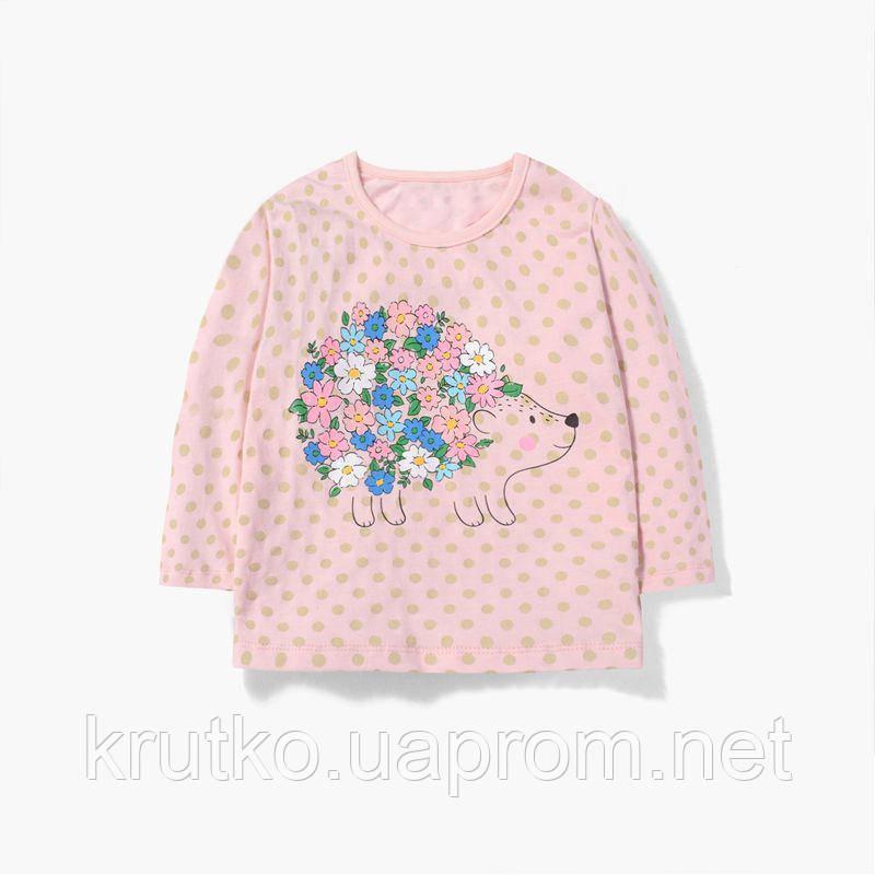 Кофта для девочки Ёжик в цветах Malwee