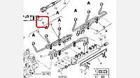 5010550870 Трубки топливные RVI Premium DCI (456 цилиндр) (Лич. От КПП)