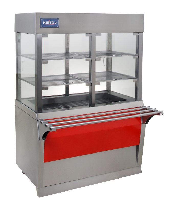 Витрина холодильная кондитерская КИЙ-В ВХК-1200 Эксклюзив
