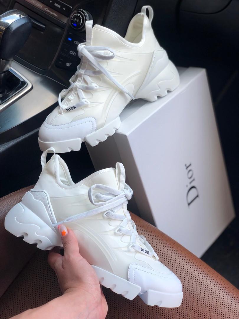 """Женские кроссовки Dior D-Connect """"White"""" ( В стиле Диор )"""