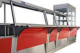 Витрина холодильная кондитерская КИЙ-В ВХК-1200 Эксклюзив, фото 3