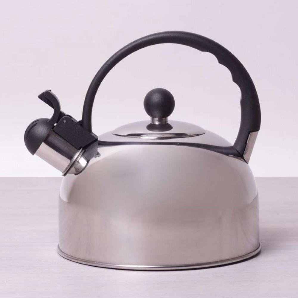 Чайник со свистком 2.5 л Kamille KM-0679 качественный для ежедневного использования
