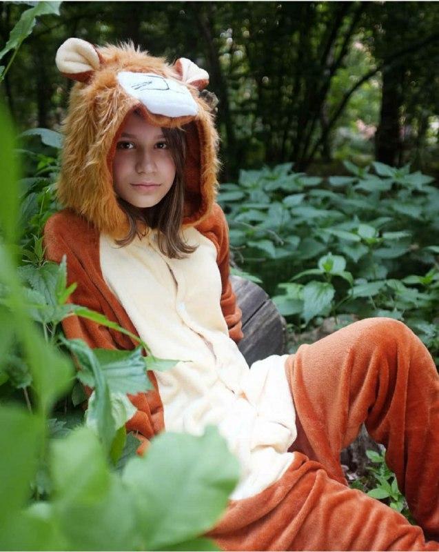 Детский костюм кигуруми львенок kig0096
