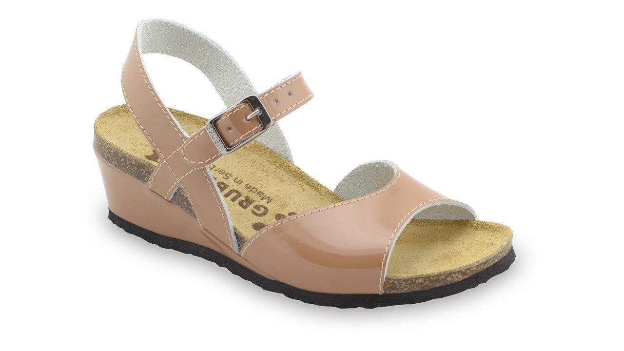 Сандалии Haldeja женские кожаные 231361