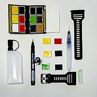 Набор акварельных красок для пленэра (Часы), фото 1