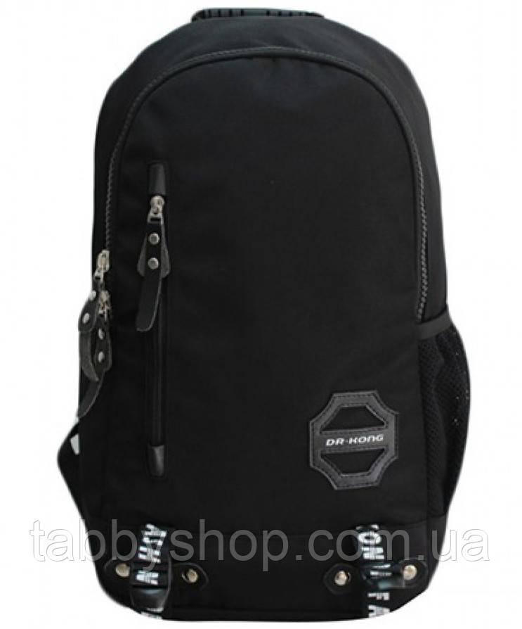 Рюкзак школьный ортопедический Dr. Kong ХL Z264 черный