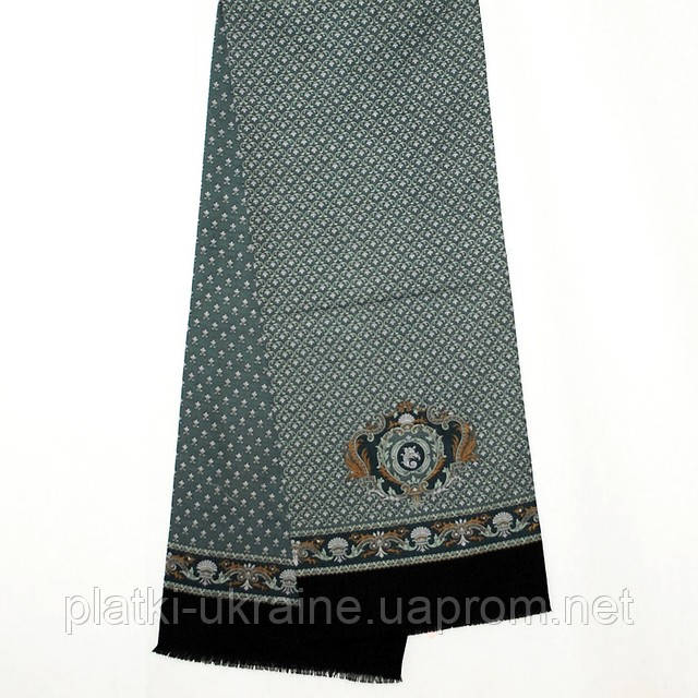"""Кашне мужское """"Брызги шампанского"""" рис. 639-2"""