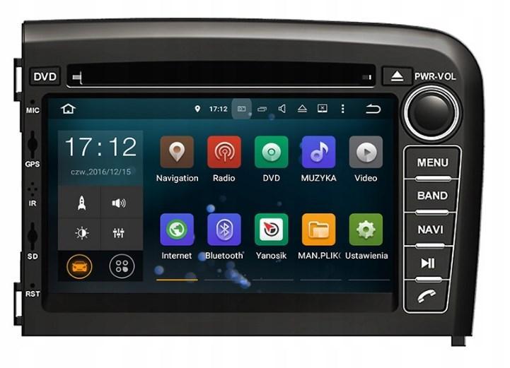 Штатная магнитола 2DIN Android 9 для Volvo S80 Wi-fi 34Gb/4Gb