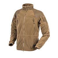 Тактическая флисовая курткаHelikon-Tex®Stratus Heavy Fleece, coyote