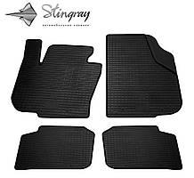 Skoda Superb  2013- Комплект из 4-х ковриков Черный в салон