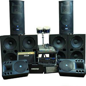 аренда звукового оборудования и музыкальных инструментов