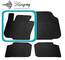 Skoda Superb  2013- Водительский коврик Черный в салон