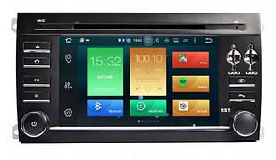 Штатная магнитола 2DIN Android 9 для Porsche Cayenne Wi-fi 16Gb/2Gb