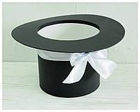 "Круглая коробка ""Шляпа"" d= 16 h=15 см, фото 1"