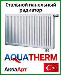 Стальной радиатор Aquaterm класс 22 500*400 нижнее подкл.