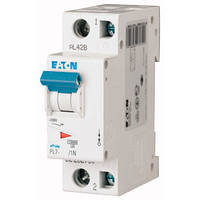 Автоматический выключатель PL7 C 1P+N 2A Eaton (Moeller)