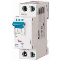 Автоматический выключатель PL7 C 1P+N 6А Eaton (Moeller)
