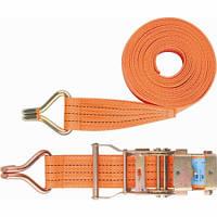 Багажний ремінь з гаками, 0,05х12 м, храповий механізм // STELS