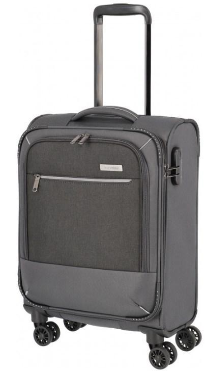 Дорожный чемодан Travelite Arona S, на 33 л, серый