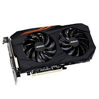 Видеокарта Radeon RX 580 OC, Gigabyte, AORUS, 8Gb DDR5, 256-bit, DVI/HDMI/3xDP, 1380/8000MHz (GV-RX5