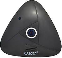 Панорамная потолочная VR IP WiFi камера UKC 3630 3mp 360° Black