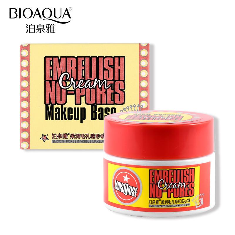 Увлажняющая база под макияж Bioaqua Embellish No-pores Cream (50г)