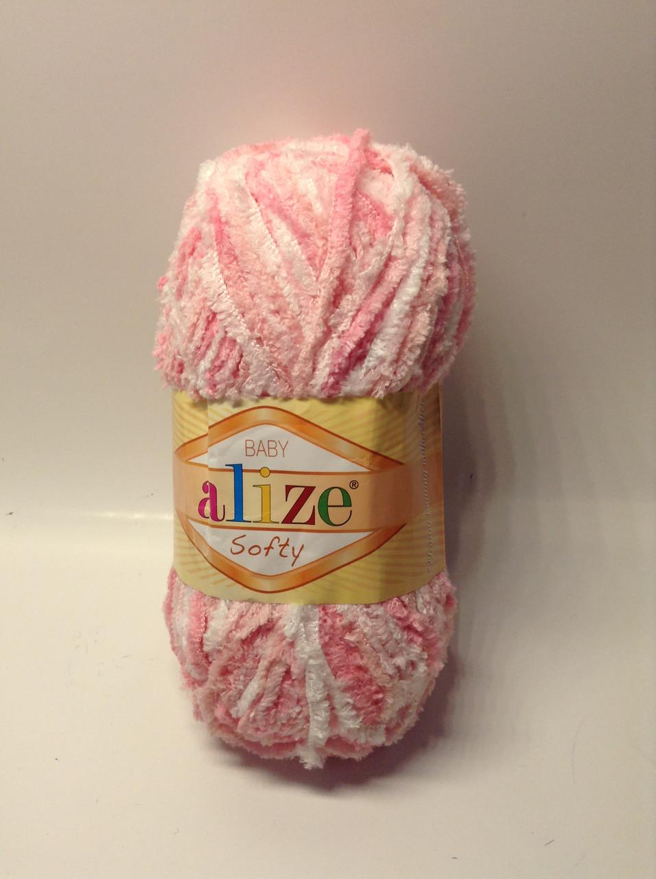 Пряжа softy Alize (плюшевая)