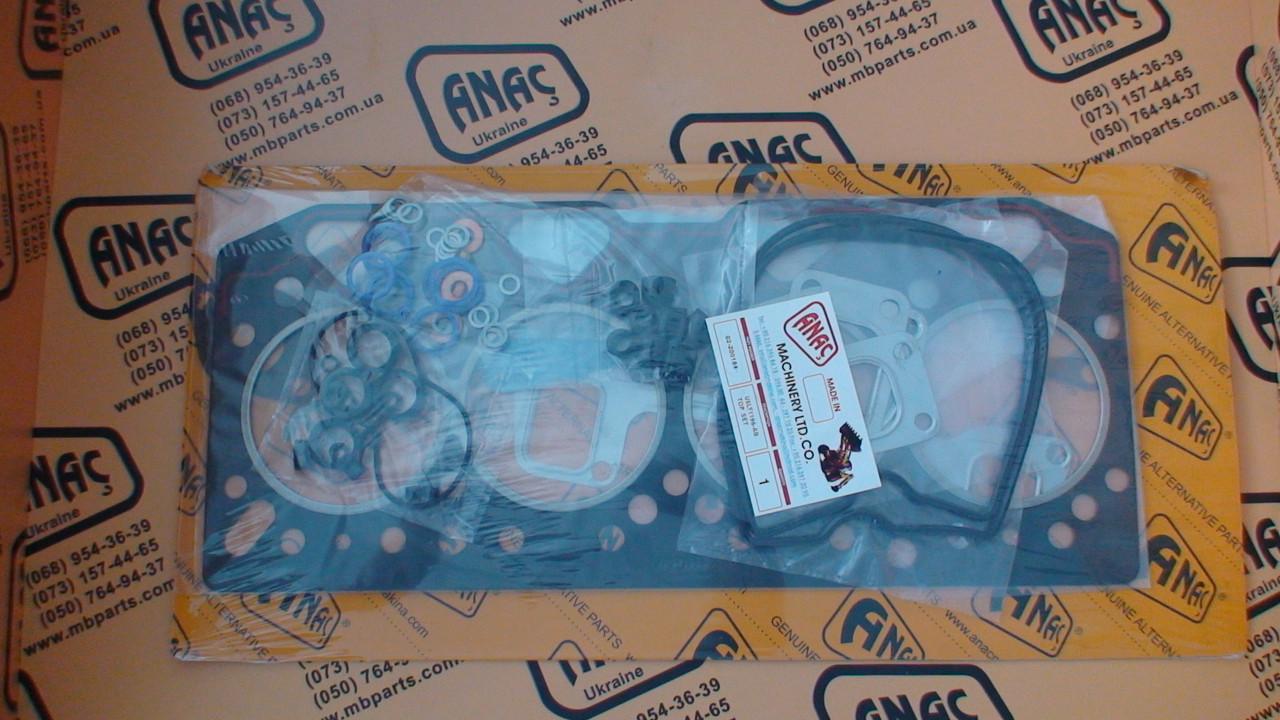 02/200184, 02/200774, 02/201341 Верхний комплект прокладок АВ на JCB 3CX, 4CX