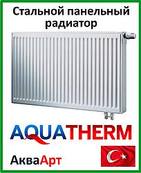 Стальной радиатор Aquaterm класс 22 500*600 нижнее подкл.