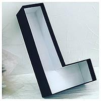 """Коробка  буква для цветов """"L"""""""