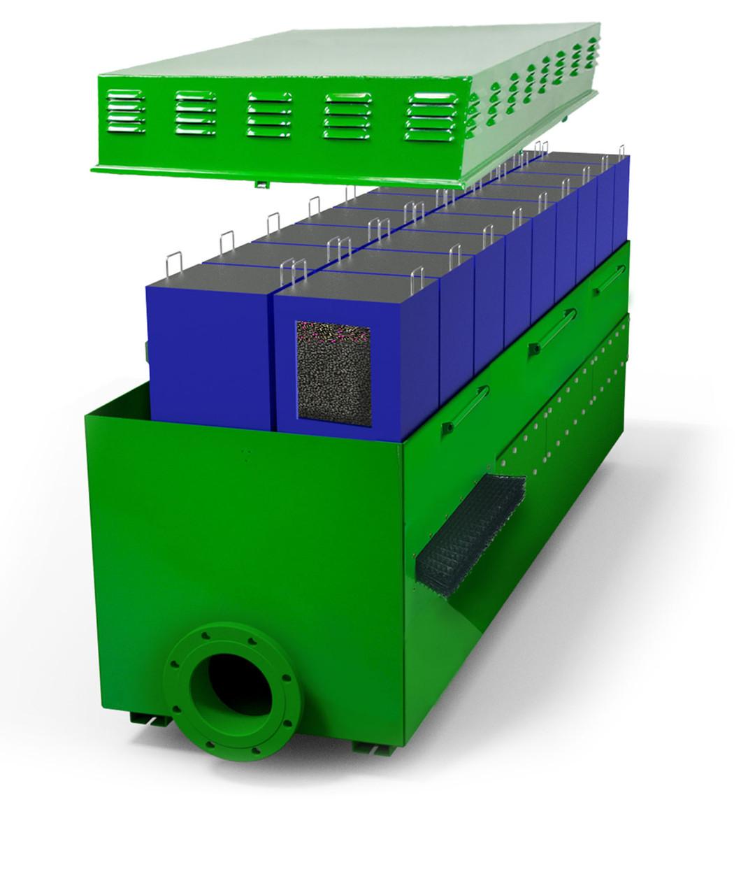 Каналізаційний фільтр для очищення повітря Wager для заводів, фармацефтических підприємств на 50-5000м3 повітря