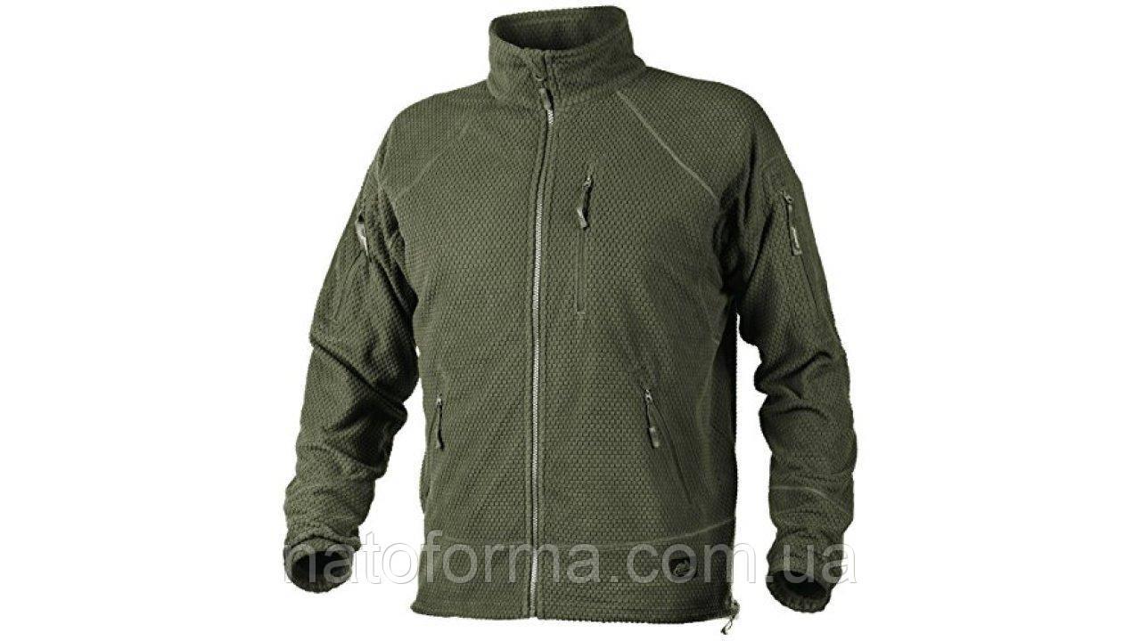 Тактическая флисовая курткаHelikon-Tex AlphaTactical GridFleece